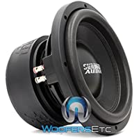 SA-10 D2 Rev 2 - Sundown Audio 10 Dual 2-Ohm SA Series Chrome Subwoofer
