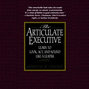 The Articulate Executive Audiobook