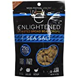 Enlightened Roasted Broad Bean Crisps, Sea Salt, 18 Oz (Packaging may vary)