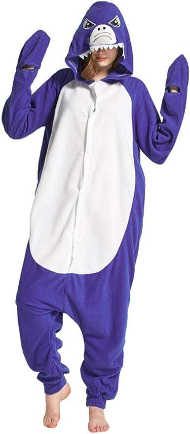 YFCH Pijama Animal Entero de Franela para Hombre/Mujer Pijama de ...