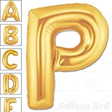 Form your name or event slogan with our Jumbo size 40 inches Matte Gold Alphabet Balloon. Self sealing, premium helium quality balloon that is perfect for all party occasion! Decorate with foil or latex Balloons for Party Decorations to form ...