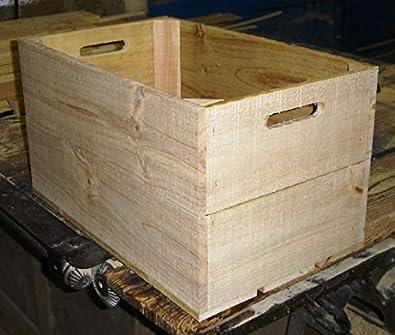 Caja Fruta Madera Pino Nueva 53x32,5x29,5 (Pack 3) Modelo 11F: Amazon.es: Joyería