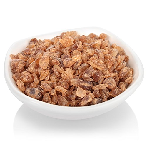 Crystal Cane Sugar - Tea Forte Amber Rock Sugar for Tea, Pure Cane Sugar Crystals, 1 lb Bag