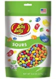 (US) Jelly Belly 5 Sours Flavors Jelly Beans - 9.8 oz Resealable Stand Up Pouch