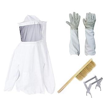Amazon.com: Nocm Beekeeper - Juego de blusa y guantes de ...