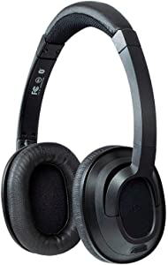 Monoprice BT-210 On Ear Wireless Bluetooth Headphone, Lightweight and Comfortable Perfect for The Home Or Office Black