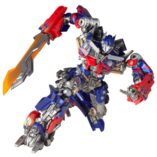 Revoltech Transformers 3 Dark the Moon SciFi Super Poseable Action Figure Optimus Prime
