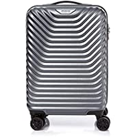 American Tourister SkyCove Hardside Spinner Luggage 55cm with tsa lock - Grey