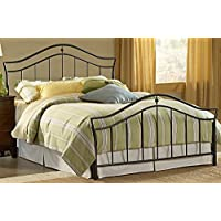 Hillsdale Furniture 1546BQR Imperial Bed Set with Rails, Queen, Twinkle Black
