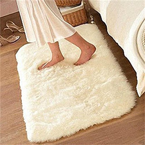 Soft Fluffy Rugs Anti Skid Shaggy Rug Dining Room Home Bedroom Carpet Floor Mat CYNDIE
