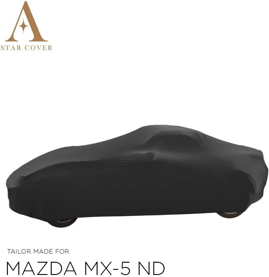 Star Cover Autoabdeckung Schwarz Mazda Mx 5 Nd SchutzhÜlle Abdeckplane Schutzdecke Auto