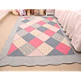 MeMoreCool Latest Home Textiles Creative Cloth Art Beautiful Rural Style Pure Cotton Quilting Living Room/Bedroom...