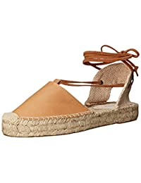 Soludos Women's Platform Gladiator Sandal Leather Platform Sandal
