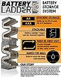 Battery Ladder (TM) AA & AAA Combo Battery