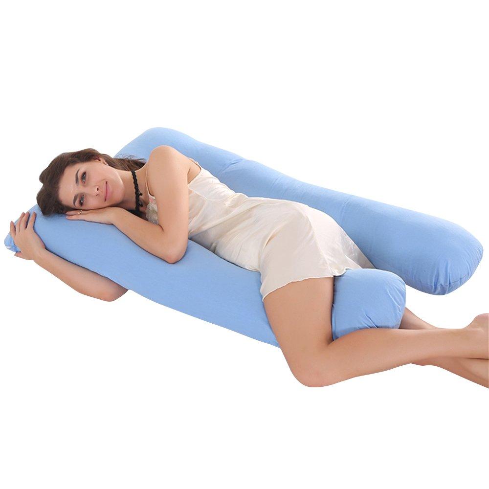 100/% Full Body Support Pregnancy Maternity Bolster Feeding Pillow And Pillowcase