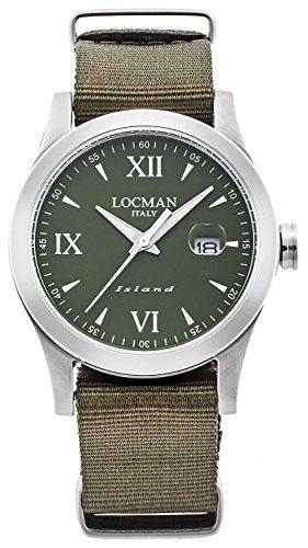 LOCMAN watch ISLAND 0614A03-00GRWHNG Men's
