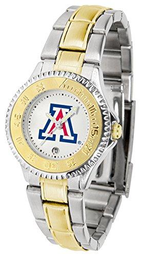 Arizona Wildcats Competitor Two-Tone Women's Watch