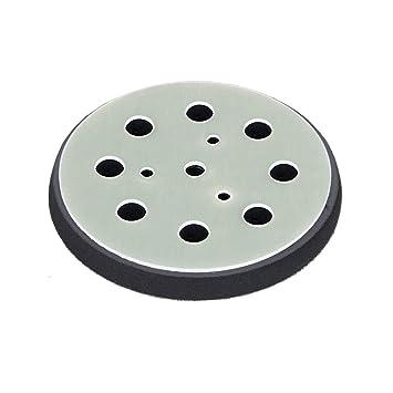 60 Sheets of Velcro//Adhesive Sanding Discs for Orbital Sanders Diameter 115 mm,