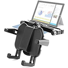 DURAGADGET Attachable Travel Headrest Mount With Extendable Arms For Microsoft Surface Pro 3