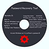 Windows Passwords Recovery / Reset - Windows 32&64 bit Windows XP Home Edition SP2+, Vista, 7, 8, 8.1, Server 2003, Server 2008