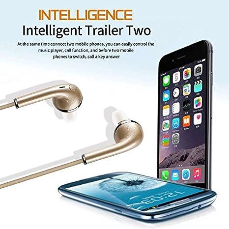 Mini Oreillettes sans Fil Casques Intra-Auriculaires Oreillette St/ér/éo avec Microphone Annulation de Bruit Casque Audio Sport /Écouteurs HiFi pour Samsung iPhone 6 7 8 X Sony iPad Tablette etc
