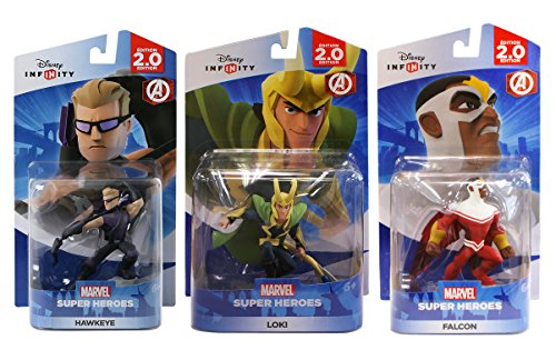 Disney Infinity - Marvel Avengers Bundle 1 (3-Pack)