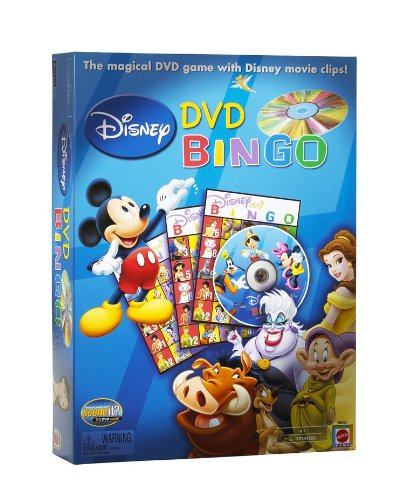 Disney DVD Bingo Game by Mattel
