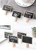 Dedoot 100pcs Mini Rectangle Chalkboard