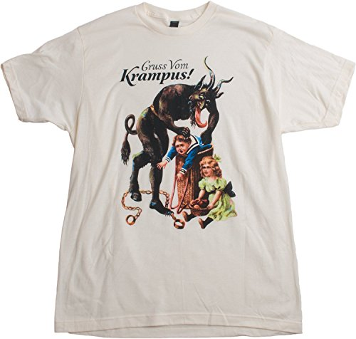 Gruss Vom Krampus! | (Greetings from) Germanic Christmas Demon Unisex T-shirt