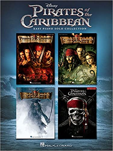 Pirates of the Caribbean Easy Piano Solo Collection Sheet Music Book