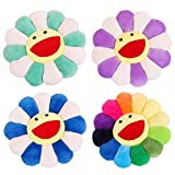 "SYSI 17"" Flower Plush Pillow Smile Flower Shaped"