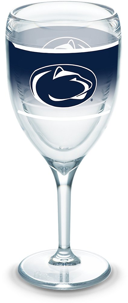 Tervis 1292303 NCAA Penn State Nittany Lions Original Wine Glasses 9 oz Clear