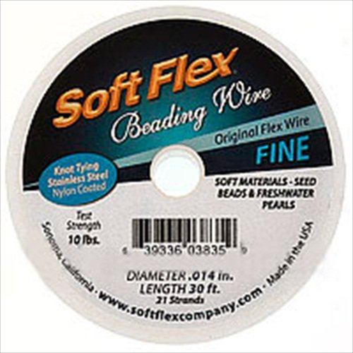 (Soft Flex Wire 21-Strand, 0.014-Inch Diameter, Satin Silver)