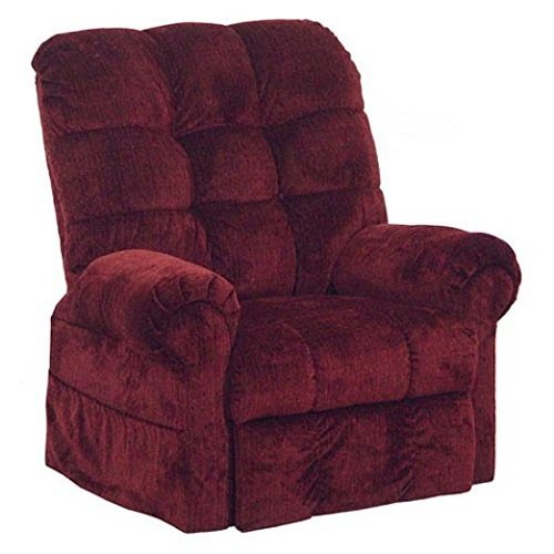 4827-2102-14 Catnapper Omni Power Lift Full Lay-Out Chaise Recliner (Chianti) Free Curbside Delivery