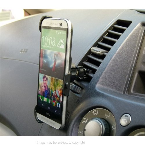 Ultimate Vehicle Air Vent Mount with Dedicated Phone Holder for HTC ONE M8