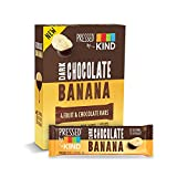 Pressed by KIND Fruit Bars, Chocolate Banana, No Sugar Added, Gluten Free, 1.34oz, 4 Count (6 Pack)