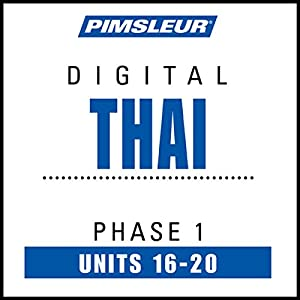 Thai Phase 1, Unit 16-20 Audiobook