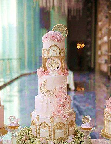 (Set of 2) Sakolla Dream Catcher Cake Decoration 3D Big Feathers Silicone Mold Fondant Mold DIY Cake Decorating Tool Candy Chocolate Mold by Sakolla (Image #6)
