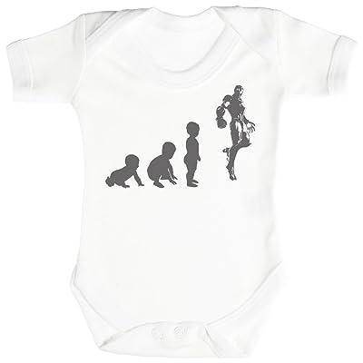 Baby Evolution To A Iron Man Body bébé - Gilet bébé - Body bébé ensemble-cadeau - 0-3 mois Blanc