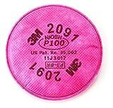3M 2091 P100 Particulate Filter, 4 PCS 2 pairs