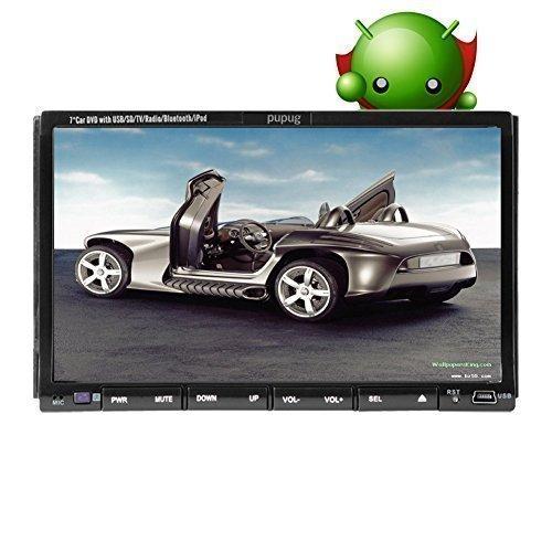 2 Din Autoradio In Dash Head Unit Deck Car Stereo DVD Vehicl