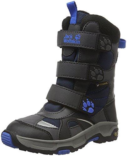 Jack Wolfskin Jungen Boys Snow Diver Texapore Schneestiefel Blau (Night Blue 1033)