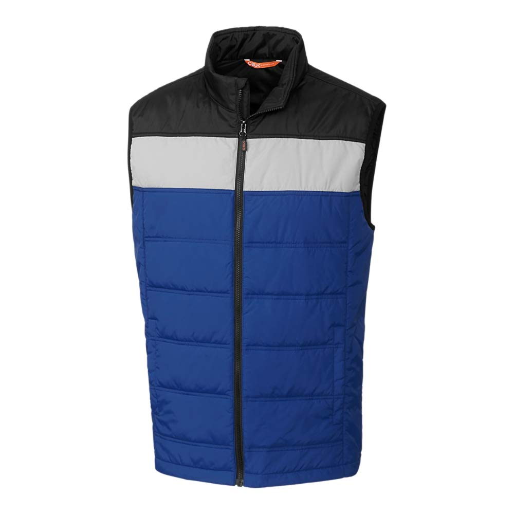 CBUK Womens Thaw Insulated Packable Wind Resistant Colorblock Vest