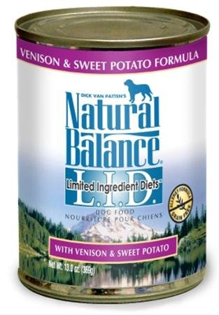 Dog Supplies Venison/Potato Dog Can by Natural Balance