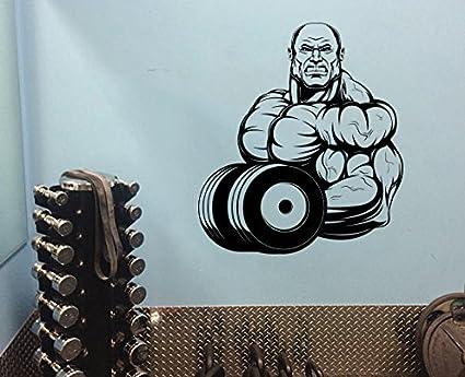 Amazon bodybuilding vinyl decal fitness sportsman