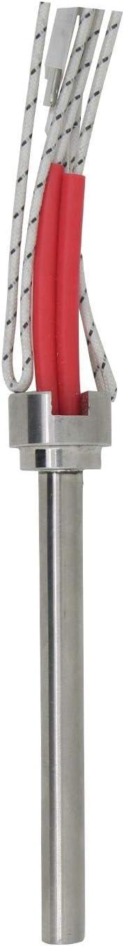 Gl/ühz/ünder pelletheizung 250w 220v /Φ 9.5mm z/ündwiderstand z/ündstab f/ür pelletofen 140 150 160 170 180 mm L/änge 140mm