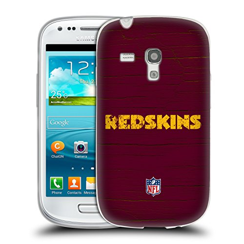 Official NFL Distressed Washington Redskins Logo Soft Gel Case for Samsung Galaxy S3 III
