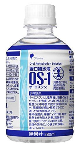 大塚製薬工場経口補水液オーエスワン280mL丸PETx24本(ケース)