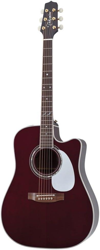 TAKAMINE jj325src John Jorgenson firma guitarra electroacústica ...