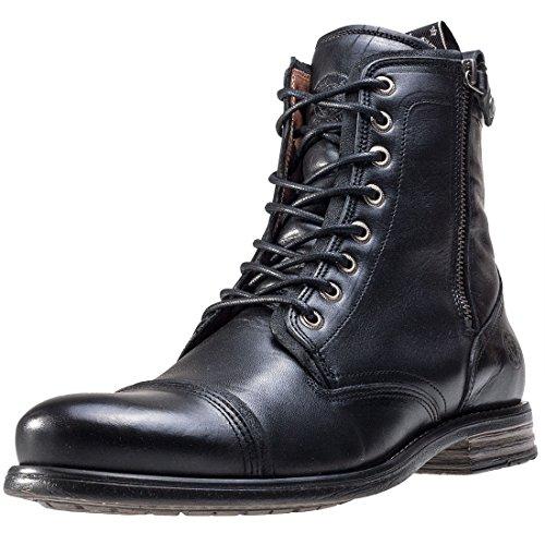 Fordham Stivali Militari STEVE Schwarz SNEAKY Black Uomo 000000 5qOTUnFw